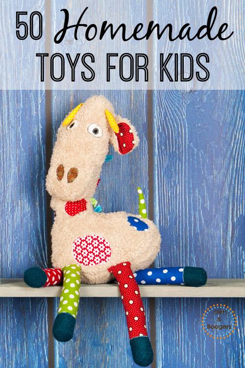 50 Handmade Toys For Kids