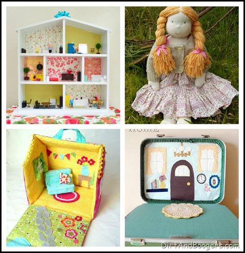 Dolls, Handmade Toys, DIY toys, kids