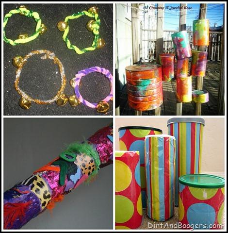 Musical Instruments, Handmade Toys, DIY toys, kids