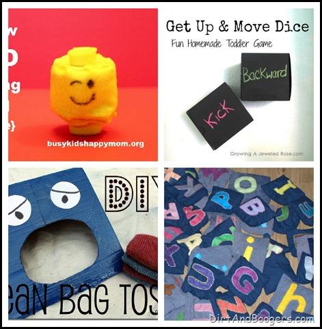 Large Motor Play, Handmade Toys, DIY Toys, Kids