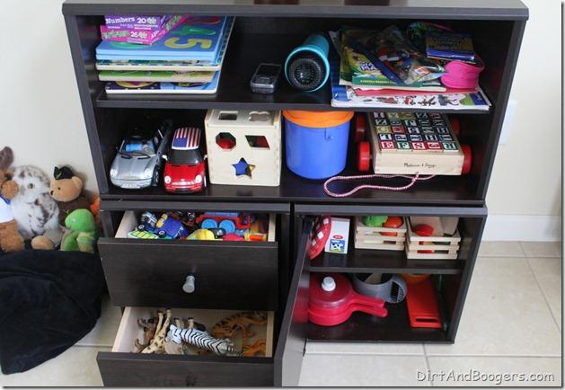 Playroom redo, organizing, kid's toys