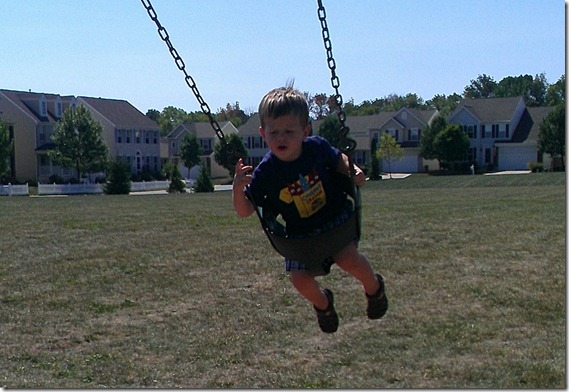 Loves to swing