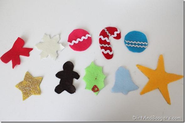 felt christmas tree, christmas, holidays, kids, children