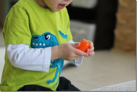 easter egg match up, preschool play, plastic easter eggs