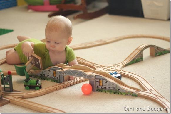 What to do when the baby wrecks the preschooler's pla