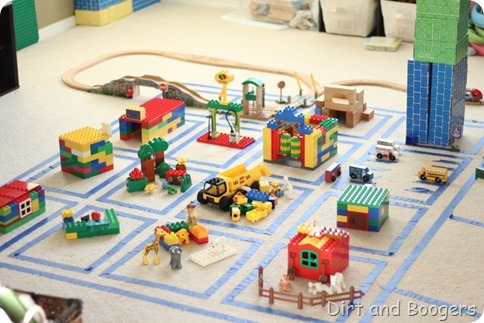 Build a City:  A perfect indoor activity to keep kids engaged for hours!