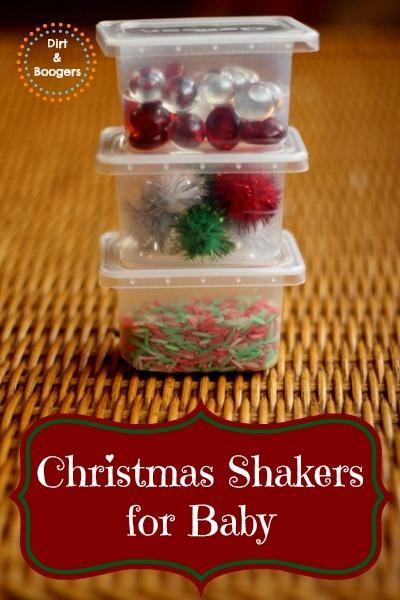 Baby Christmas Shakers