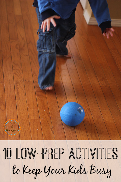Kid activities don't have to be elaborate. These 10 low-prep activities are surprisingly easy to set up.