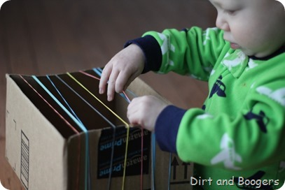 Rubber Band Guitar for Baby