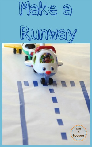 Make a Simple Runway for Your Kids