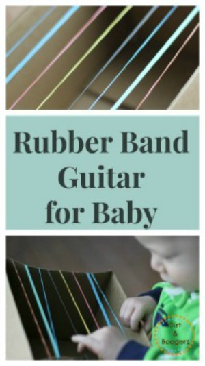 Rubber Band Guitar for Baby - 300