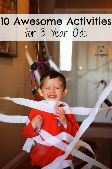 Activities for three year olds