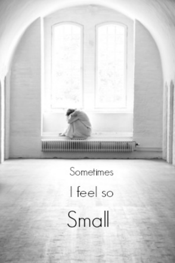 Lonely Mom ::  Some Days I Feel So Small