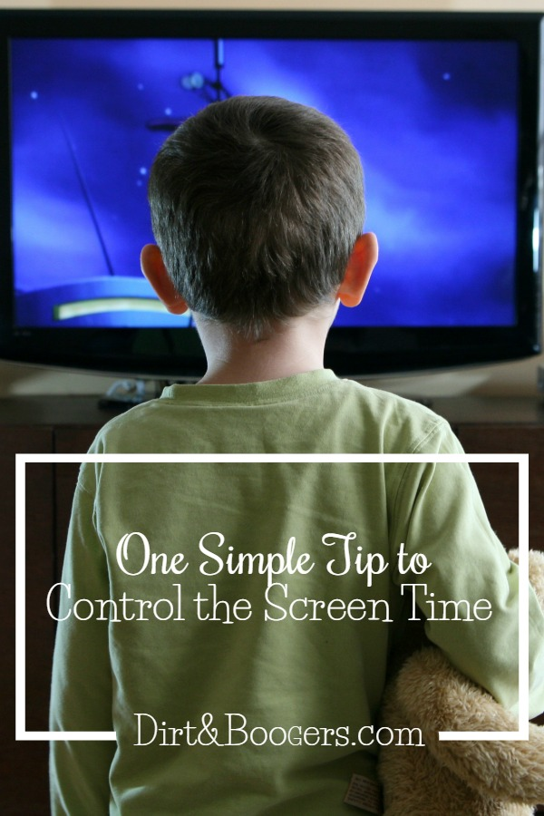 One parenting tip that will help you control the screen time at your house