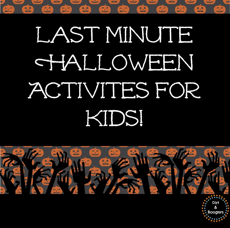 Minute Halloween Activities for Kids