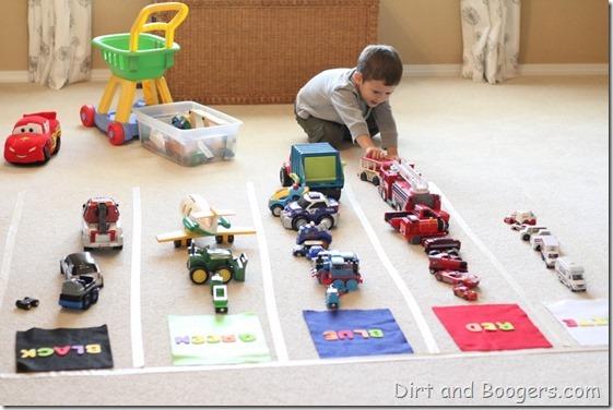 Color Sorting for Preschoolers